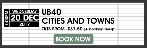 UB40 BOOK NOW