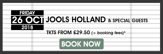 JOOLS HOLLAND BOOK NOW